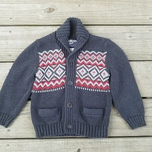 Oshkosh boys cardigan sweater size 4T